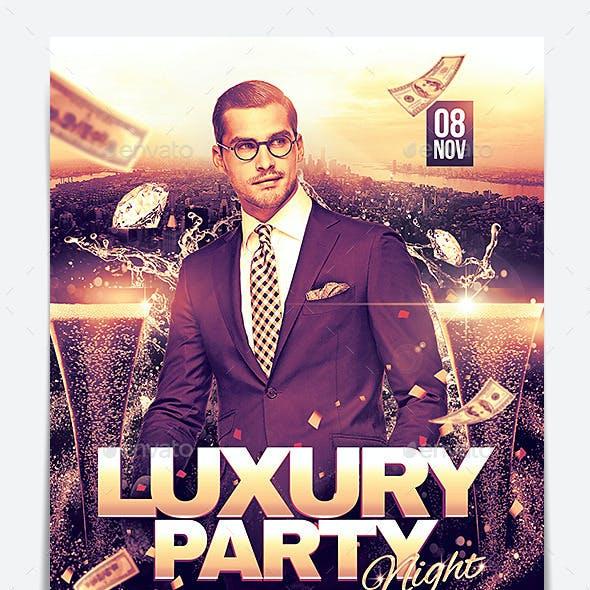 Luxury Party Night Flyer