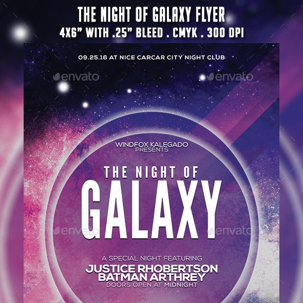 The Night of Galaxy Flyer