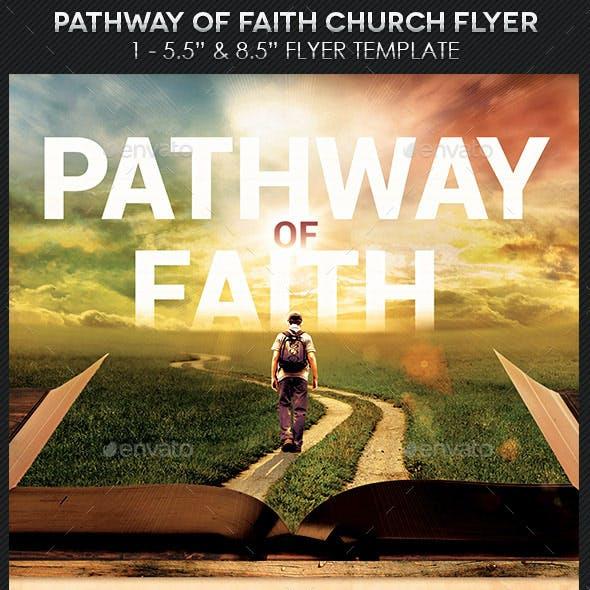 Faith Pathway Church Flyer Template