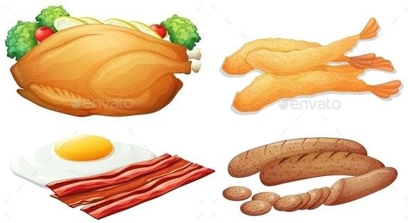 Food Set - Food Objects