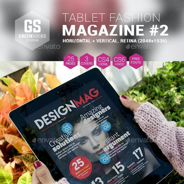 Tablet Fashion Magazine