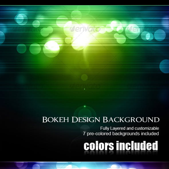 Bokeh Design Background