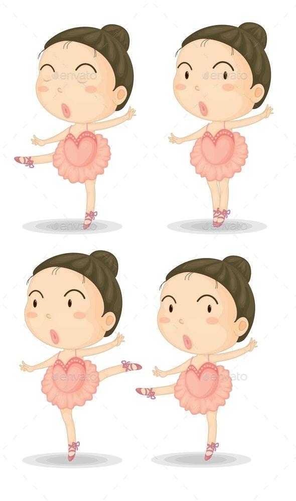 Ballerinas - People Characters