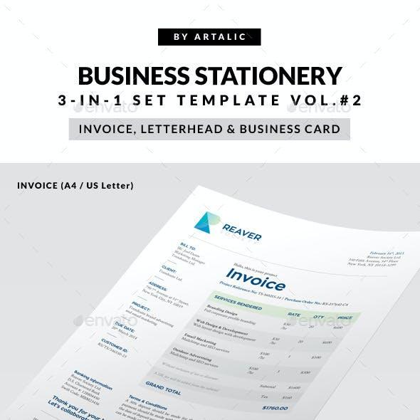 Invoice 3-in-1 Set