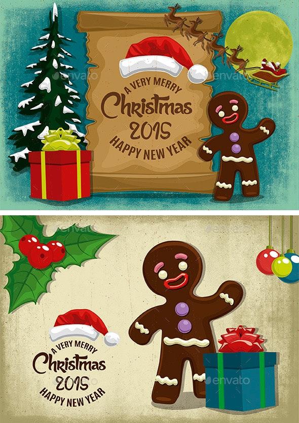Christmas - Illustrations Graphics