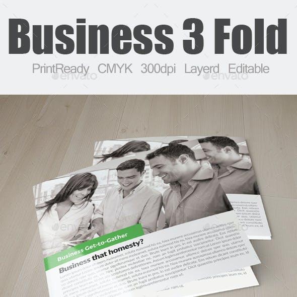 Multi Use Business Square Trifold Bundle