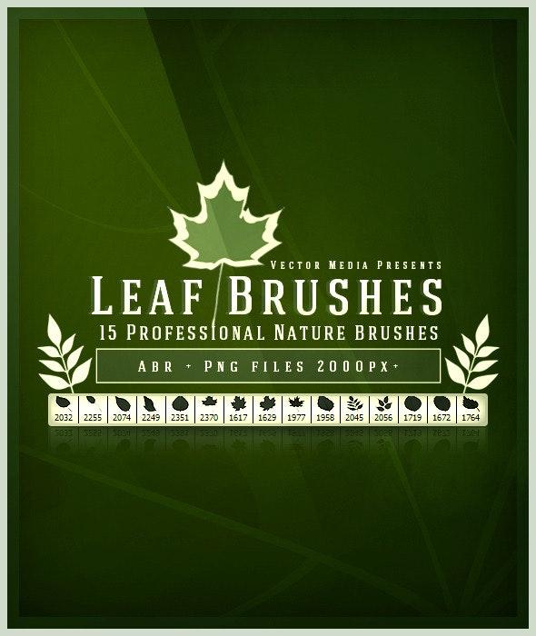 Leaf - Photoshop Brushes - Flourishes Brushes