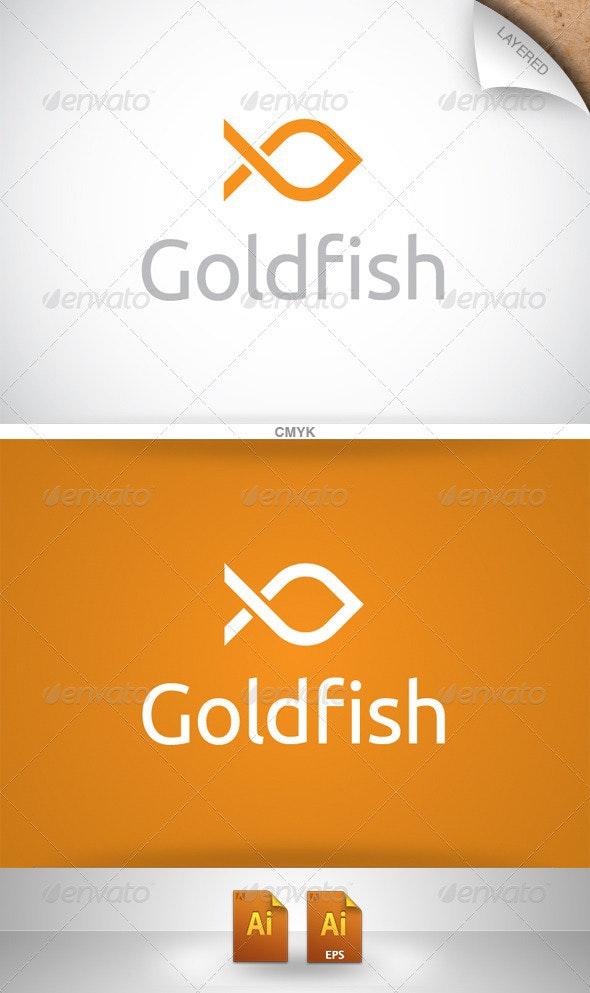 Goldfish Logo - Animals Logo Templates