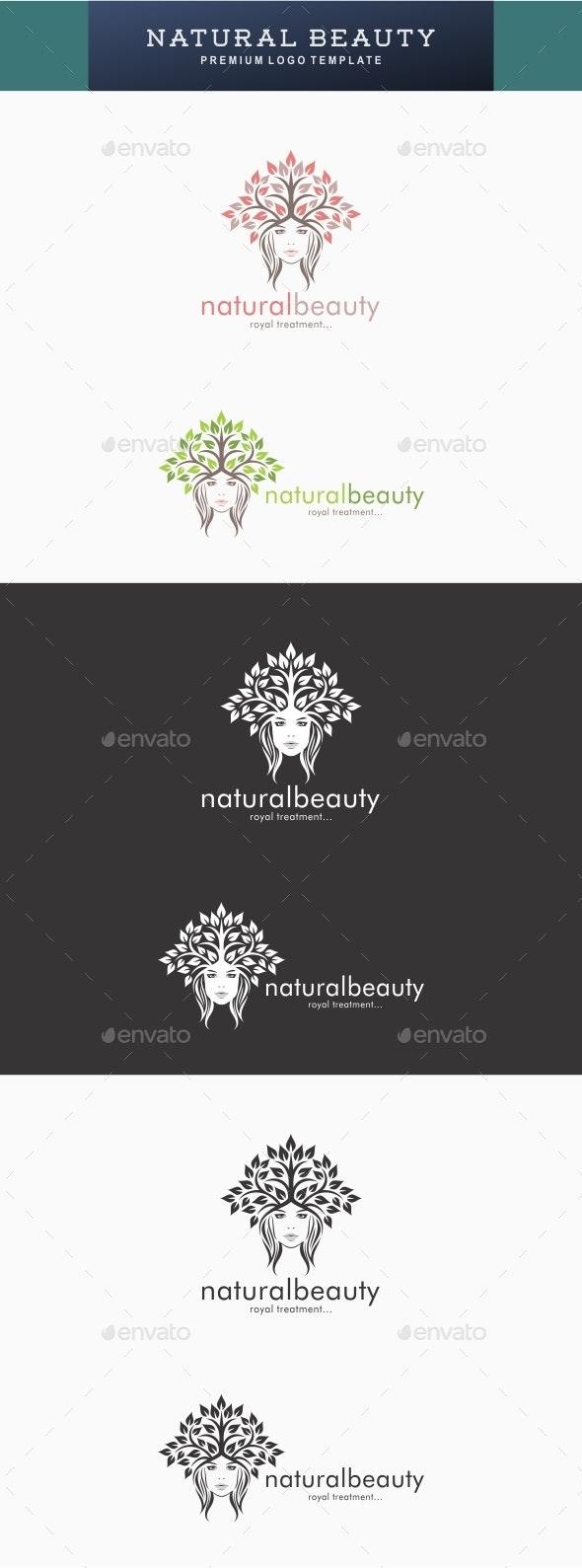 Natural Beauty Logo - Symbols Logo Templates