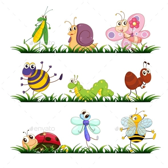 Bugs - Animals Characters