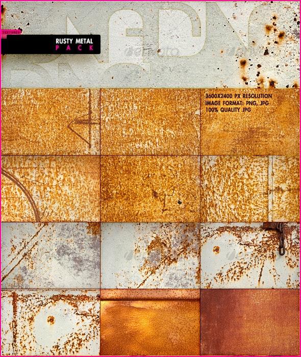 Rusty Metal Pack - Wood Textures