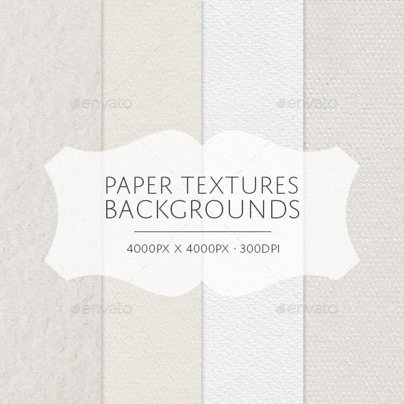 Paper Textures Backgrounds