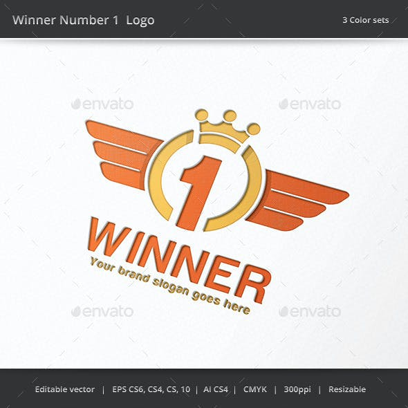Winner Number 1 Logo