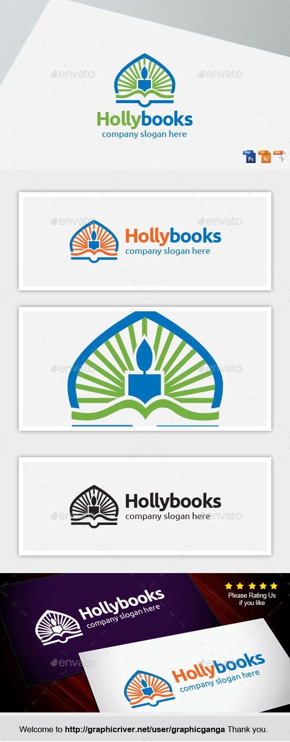 Hollybook - Objects Logo Templates