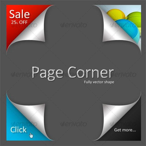 Premium Page Curl - Vol.01 - Web Elements
