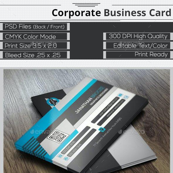 Smart  Creative  Corporate Business Card