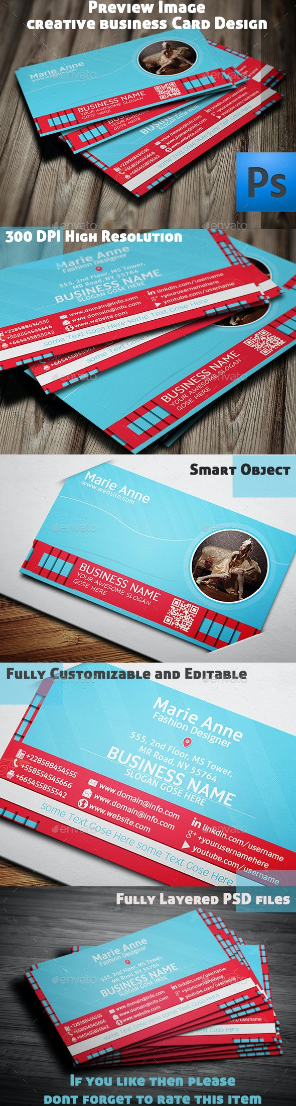 Creative Business Card Design-v1 - Creative Business Cards