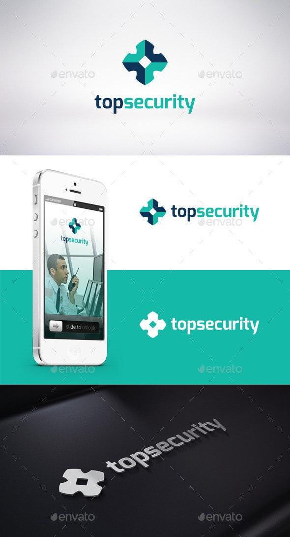 Top Security Logo Template  - Symbols Logo Templates