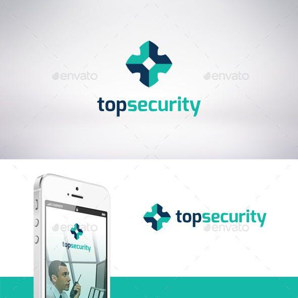 Top Security Logo Template