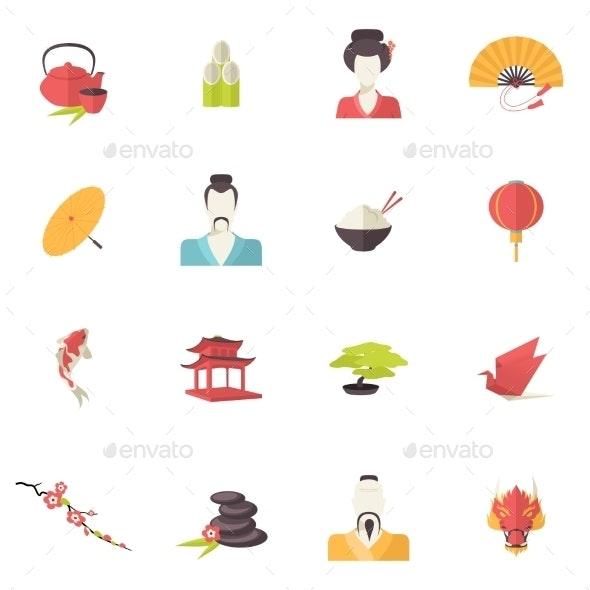 Japan Icons - Web Technology