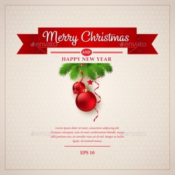 Christmas Greeting Card. - Christmas Seasons/Holidays