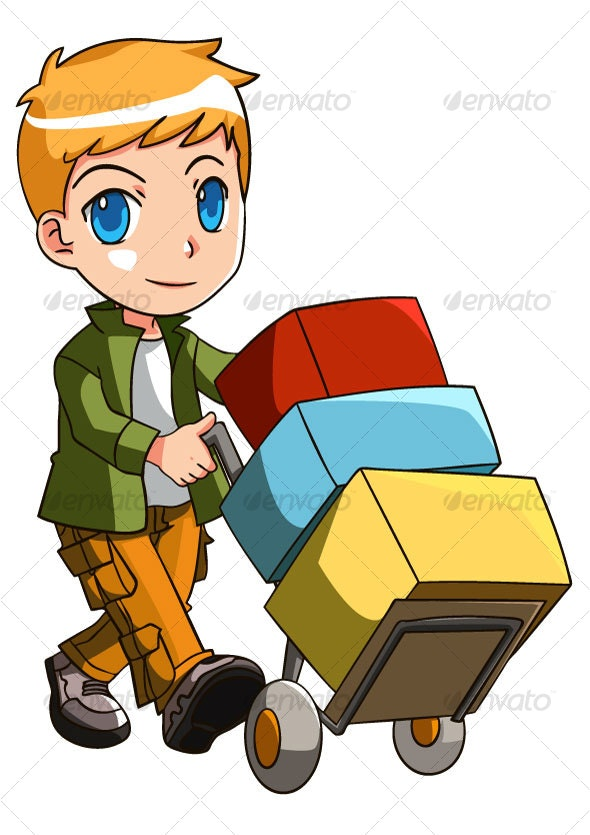 Delivery boy - Services Commercial / Shopping