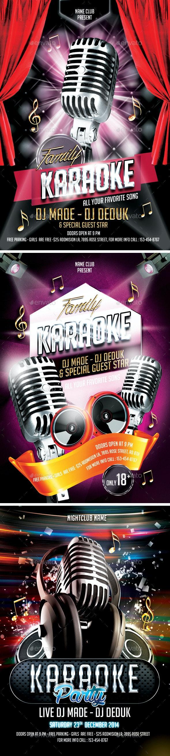 Karaoke Bundle - Clubs & Parties Events