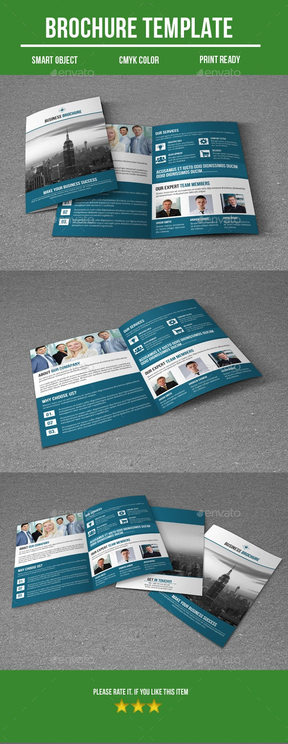 Bi - Fold Business Brochure  - Corporate Brochures