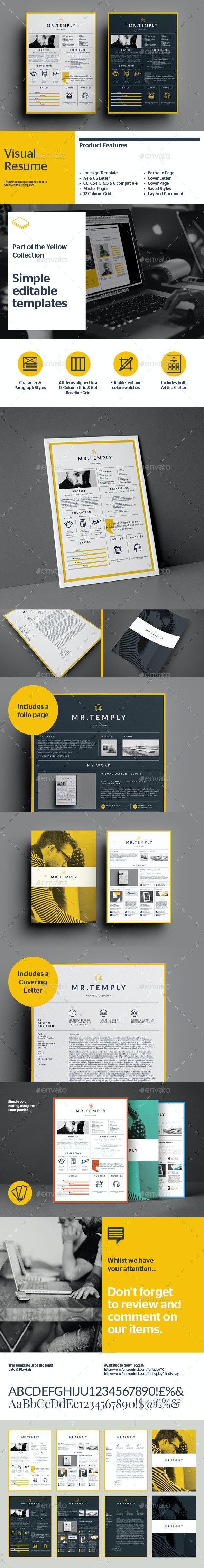 Visual Resume - Resumes Stationery