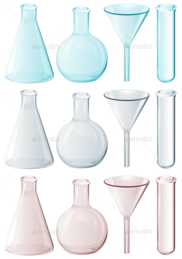 Different Laboratory Instruments - Man-made Objects Objects