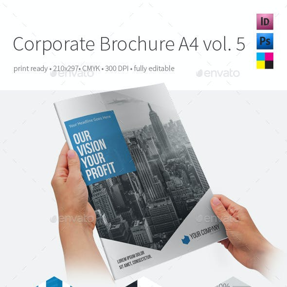 Corporate Brochure A4 Vol5