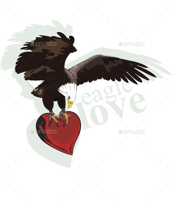 Eagle Heart - Animals Characters