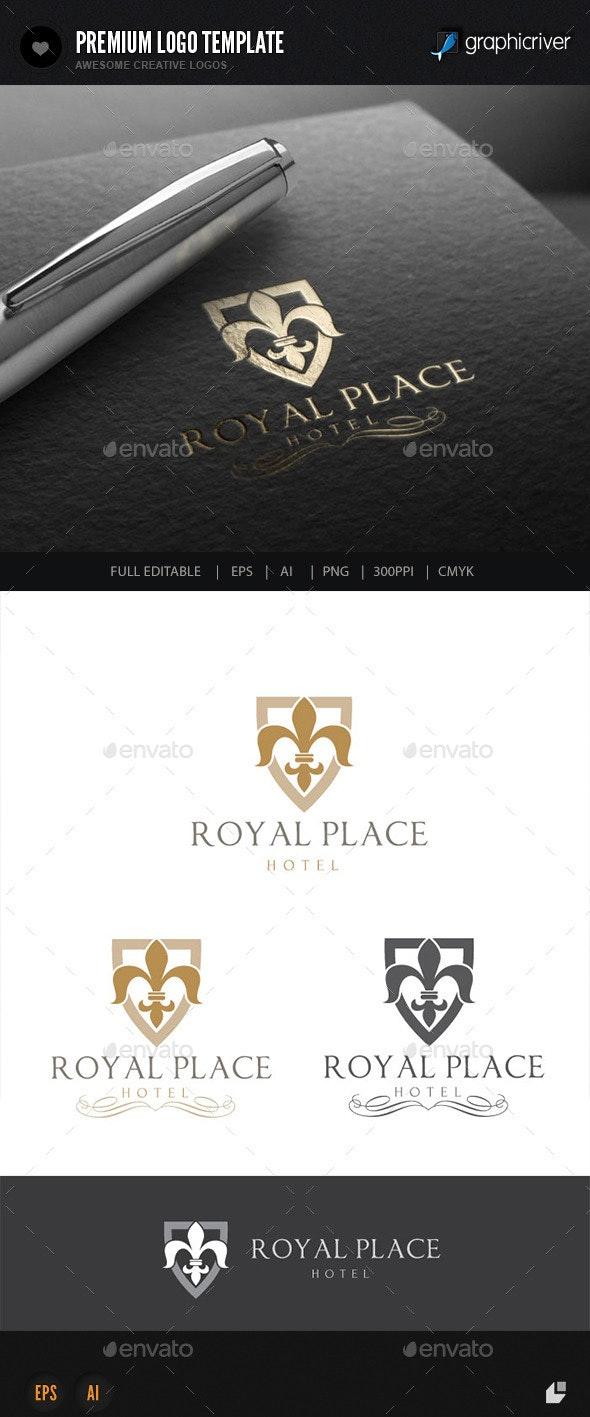 Hotel Logo V1 - Crests Logo Templates
