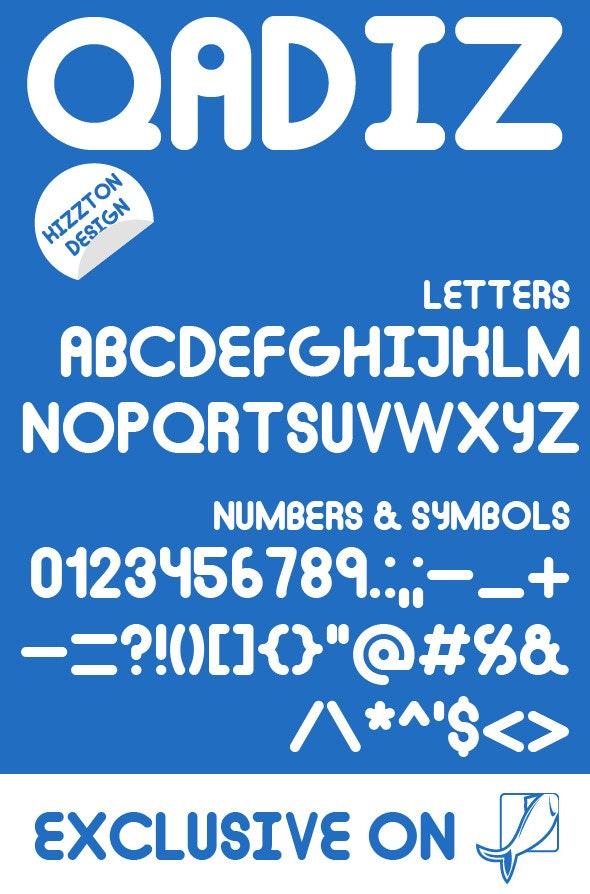 Qadiz Premium Font - Fonts