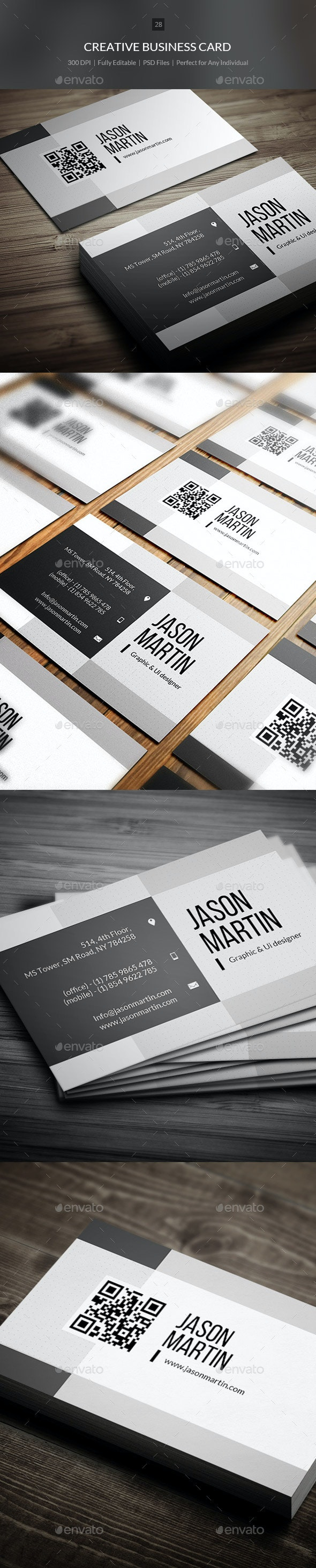 Creative Business Card - 28 - Corporate Business Cards