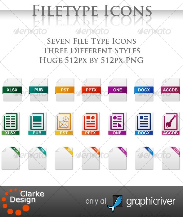 Filetype Icons - Software Icons