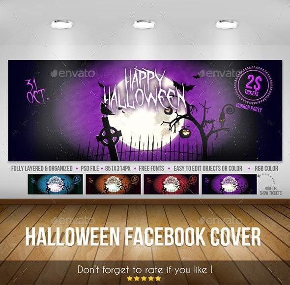Halloween – Facebook Cover - Facebook Timeline Covers Social Media