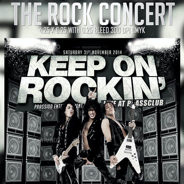 The Rock Concert Flyer Template