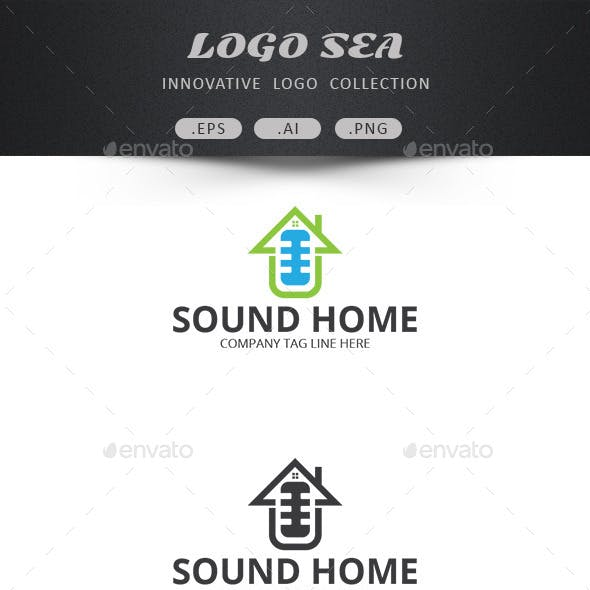 Sound Home Vector Design