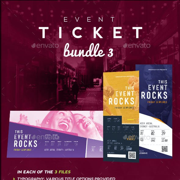 Event Tickets Bundle 3