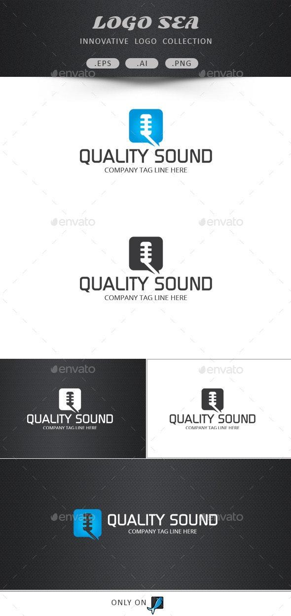 Quality Sound Vector Logo - Symbols Logo Templates