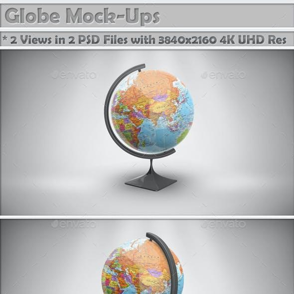 Globe Mock-Up