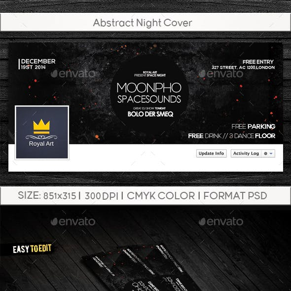 Abstract Night Cover