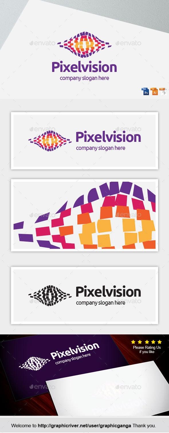 Pixel Vision - Abstract Logo Templates