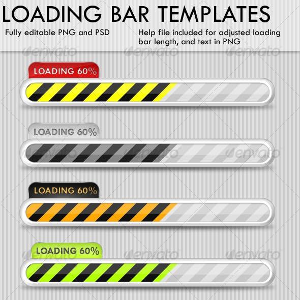Loading bar templates