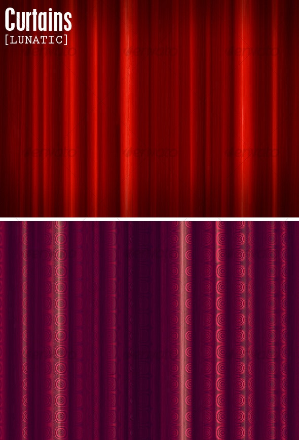Curtains - Fabric Textures