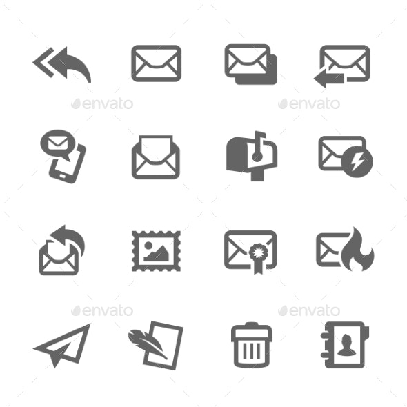 Mail Icons - Web Icons