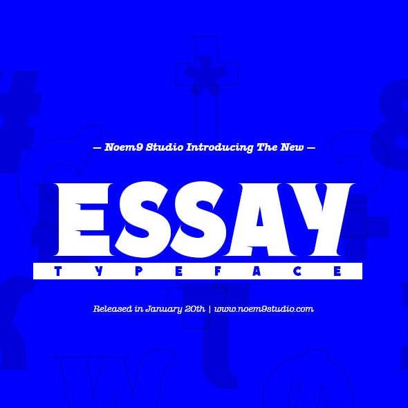 Essay Font Family