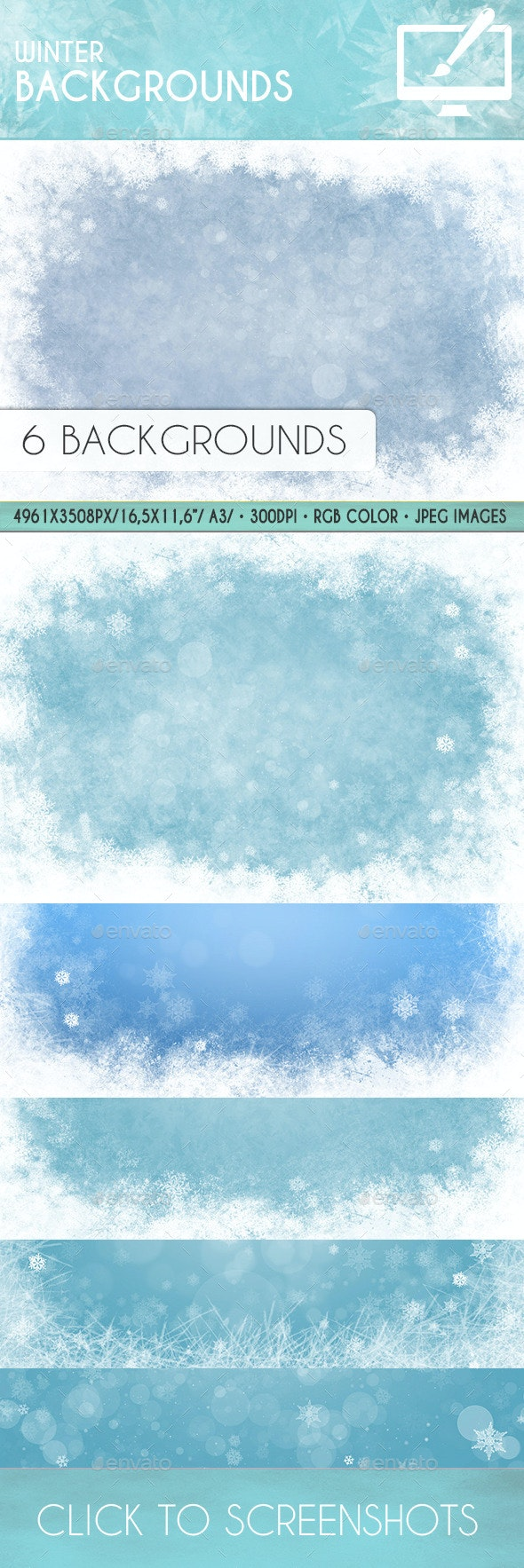 Winter Backgrounds - Backgrounds Graphics