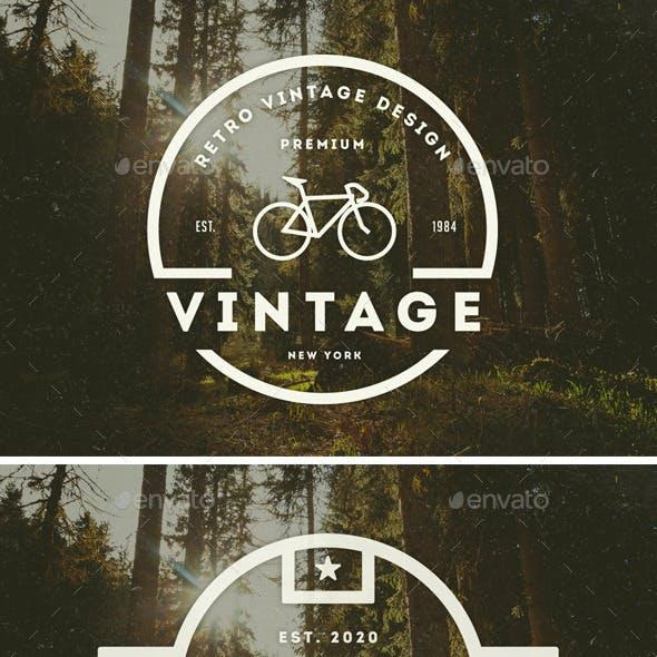 14 Vintage Logos Labels & Badges